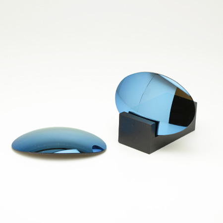 古德曼镜头制造商 OAKLEY 罗密欧 1 罗密欧一) 可互换镜头灰色基地 / 鲜蓝色镜聚碳酸酯) 奥克利-罗密欧-RM-P105)