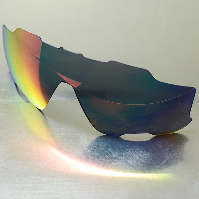 GOODMAN LENS MANUFACTURE グッドマンレンズマニュファクチャーOAKLEY JAWBREAKER オークリー ジョーブレーカー 用交換レンズライトグレー レッドミラー ベンチレーションレンズのみNvw8n0Om