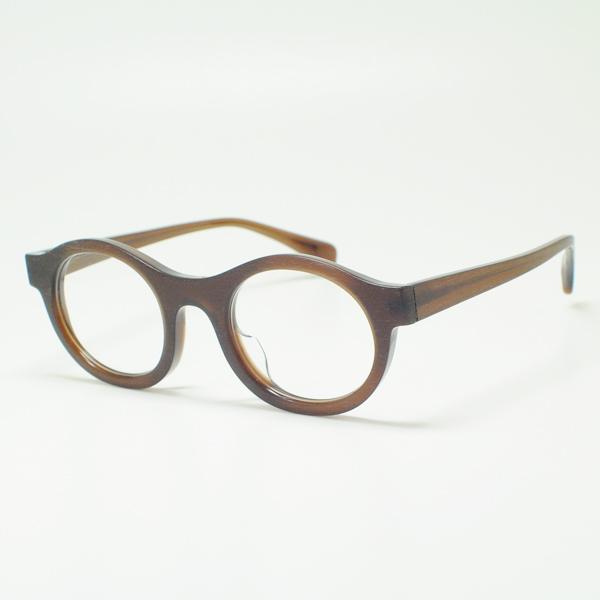 Ryuichi Sakamoto ジャックデュラン Eyeglass Frames HOAPINSU L 511 007  ブラッシュドブラウン/デモレンズ Has Been A Favorite Model Round Glasses Round Oval