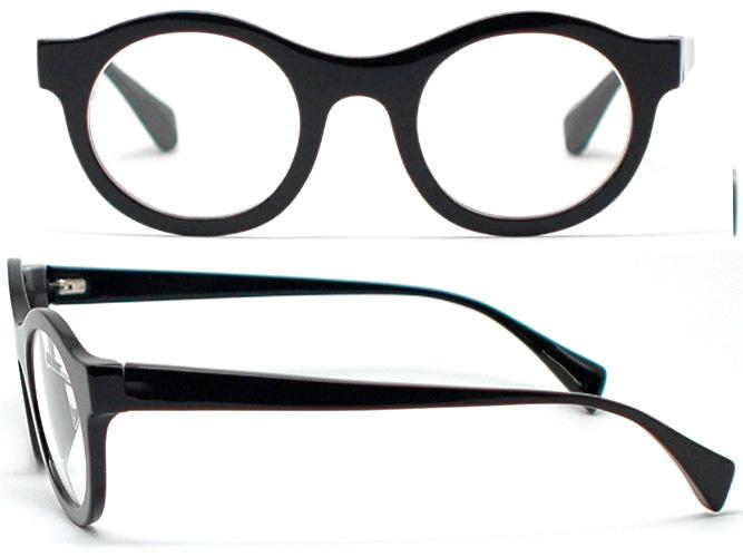잭 듀란 안경 프레임 HOAPINSU-L-511-011 (블랙) 사카모토 류이치 씨가 좋아하는을 모델 동그라미 안경 라운드 오벌