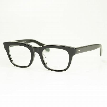 【増永眼鏡】MASUNAGA メガネフレーム光輝 KOOKI 000-19 (ブラック/クリアレンズ)