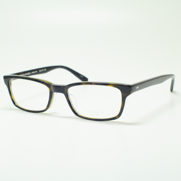 MASUNAGA 안경 프레임 밝음 KOOKI 033-23 (데 미/클리어 렌즈)