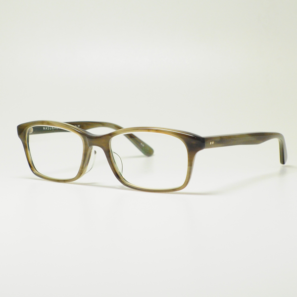 永眼镜框架明亮 KOOKI 025-34 (灰色/清除镜头)