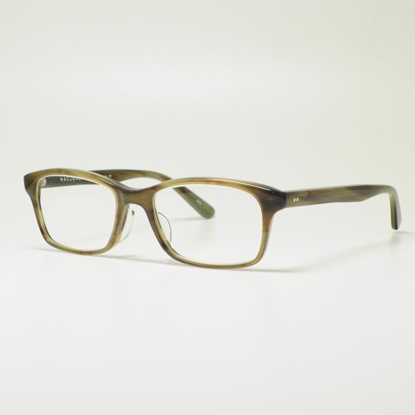 MASUNAGA 안경 프레임 밝음 KOOKI 025-34 (그레이/클리어 렌즈)