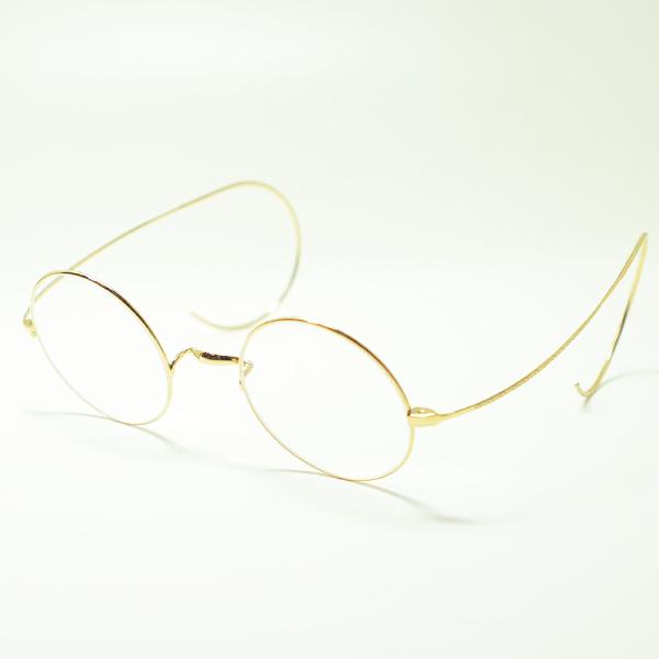 【増永眼鏡】MASUNAGA メガネフレームMASUNAGA GOLD FRAME マスナガ ゴールド フレーム【G.M.S.】ジーエムエス GMS-999E 18K(ゴールド18金/クリアレンズ)