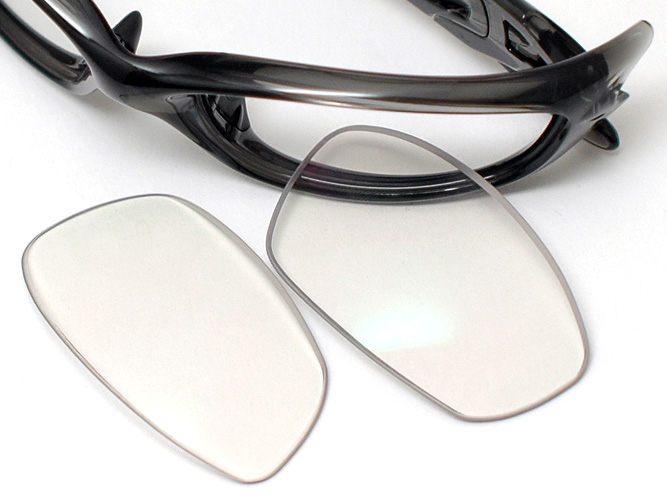 c22bca7a699 Oakley straight jacket for custom replacement lens clear dimmer  clear-light  gray  (CR material and treated coat equipment!
