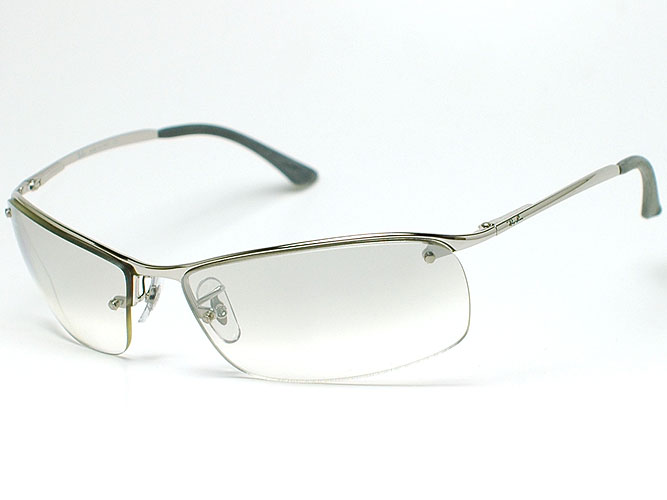 Ray Ban Sunglasses RB3183 003 61 Silver/ホワイトグラディエント U0026 Silver Mirror