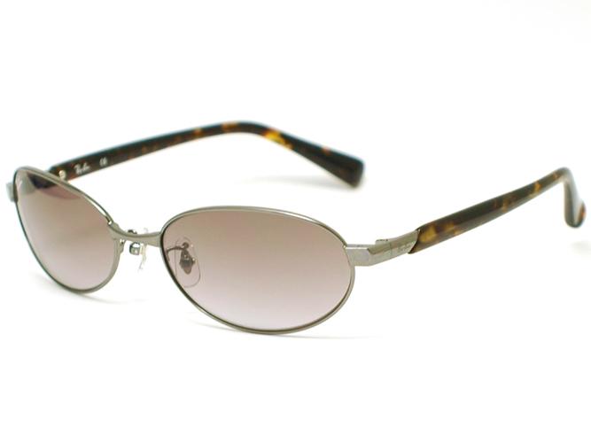 레이 금지 선글라스 안경 RB3418-034-8E (건 블랙/스모크 퍼플 그라데이션)