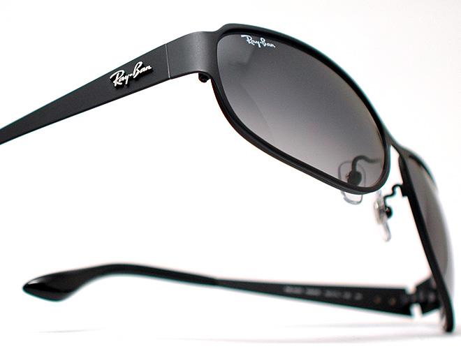 레이 금지 선글라스 안경 RB-3453-099/8G (매트 블랙/グレーグラディエント)