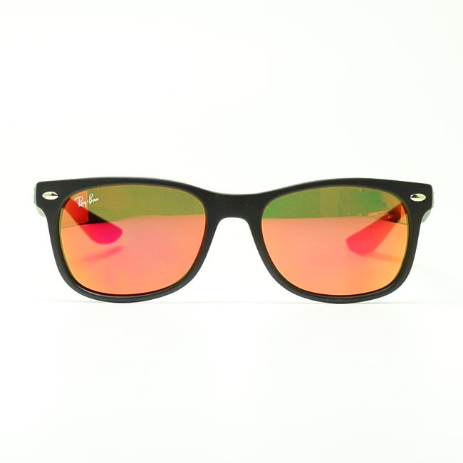 4952ab32957 ... promo code sunglasses ray ban new wayfarer junior matte black red  mirror 5024f ab8f7