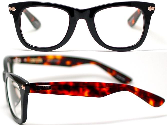세이버 안경 프레임 DETOX 해독 SV100-24522J (블랙/ダークトートイズ/일반 데모 렌즈)