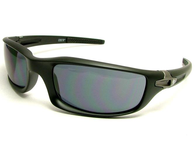 间谍太阳眼镜DIABLO(日家畜育种研究组织)DIBK2N(垫子黑色/灰色偏光)