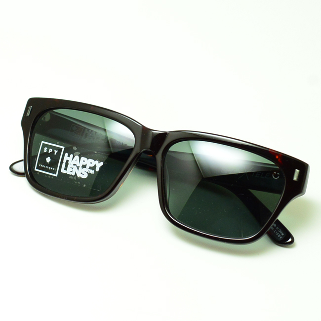 ec4a283b1c Spy sunglasses SPY CROSSTOWN COLLECTION TELE (Dark Tortoise  happa grey  green)