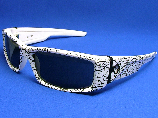 664388e226f Spy sunglasses HIELO ( by ) HE1N00 (shiny white - black Brocade gray)