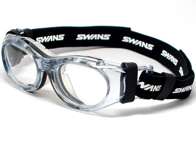 スワンズ【SWANS】度付き対応スポーツ用ゴーグル大人気の SVS600 がフルモデルチェンジ!NEW EYE GUARD (アイガード)SVS-600 N -BLK※Jrサイズ※(ブラック/クリア) スポーツ眼鏡