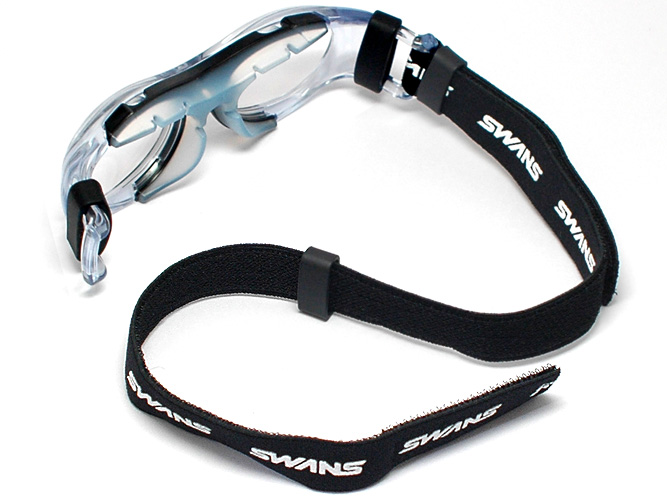 a81ee40367 Fully remodeled with Swan s support for sport goggles popular SVS600! NEW EYE  GUARD ( aiguard ) SVS-600 N-BLK   Jr size   (black clear)