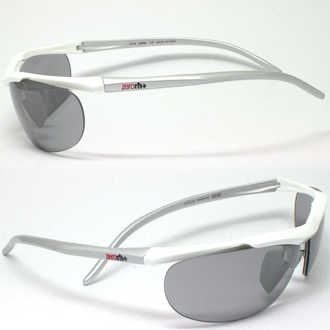 제로아르에이치프라스 STYLUS 스티르스 RH63416 See Safe (화이트 x실버/NXT 편광조광그레이) ※렌즈는 자외선에 반응해 중간 농도의 그레이로부터 진한 그레이에 변색합니다