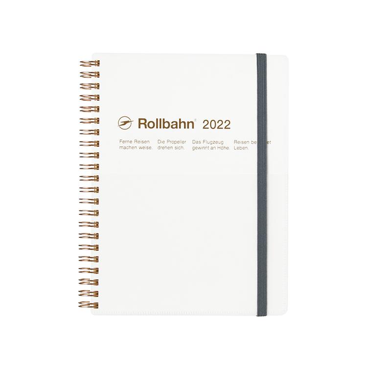 流行のアイテム Rollbahn ロルバーン OUTLET SALE 手帳2022 公式通販 DELFONICS ホワイト ダイアリー タスカ デルフォニックス A5
