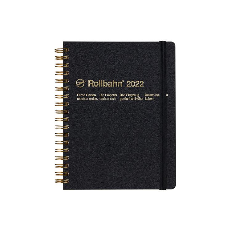 Rollbahn ロルバーン 手帳2022 公式通販 DELFONICS L デルフォニックス ダイアリー クラスタ 新入荷 流行 ブラック ご予約品