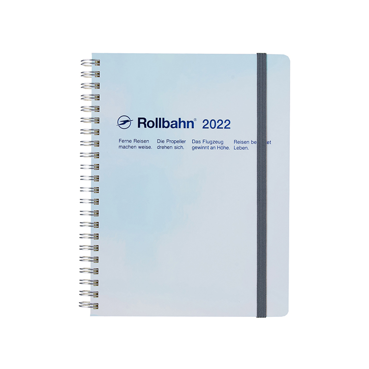 Rollbahn ロルバーン 手帳2022 公式通販 店 DELFONICS A5 メタリック NEW ARRIVAL ダイアリー メタリックホワイト デルフォニックス