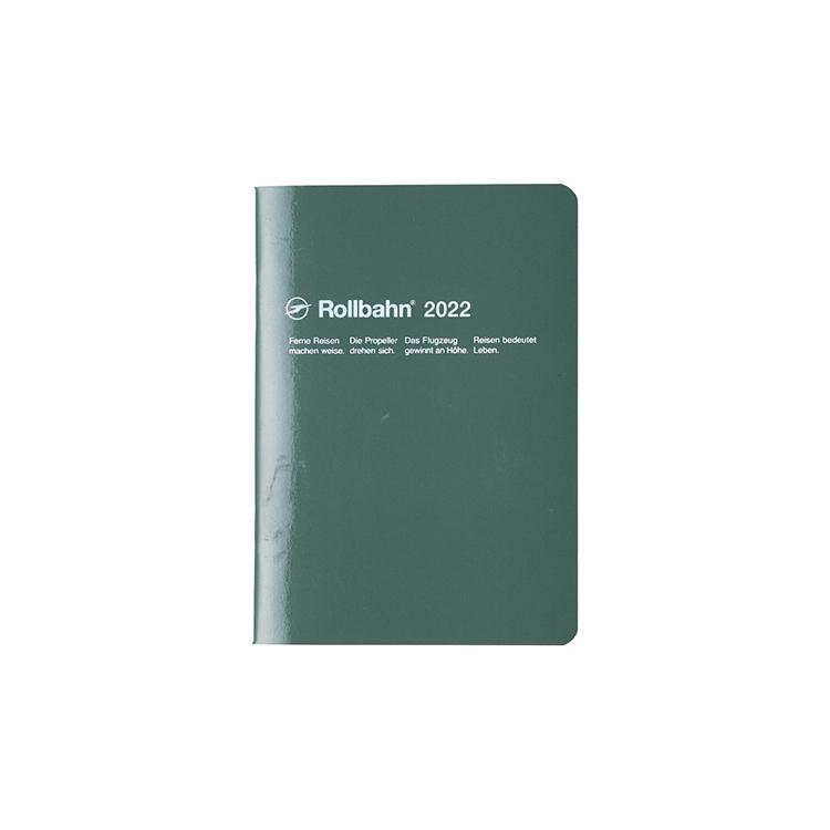 Rollbahn ロルバーン 日本未発売 手帳2022 公式通販 DELFONICS 送料無料(一部地域を除く) ノートダイアリー デルフォニックス ダークグリーン A6