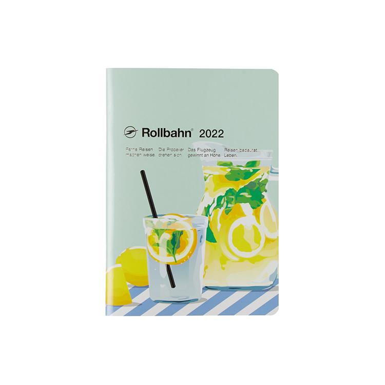 Rollbahn ロルバーン 手帳2022 公式通販 DELFONICS デルフォニックス ギフト プレゼント 税込 ご褒美 レモネード ノートダイアリー ミント メレンダ B6