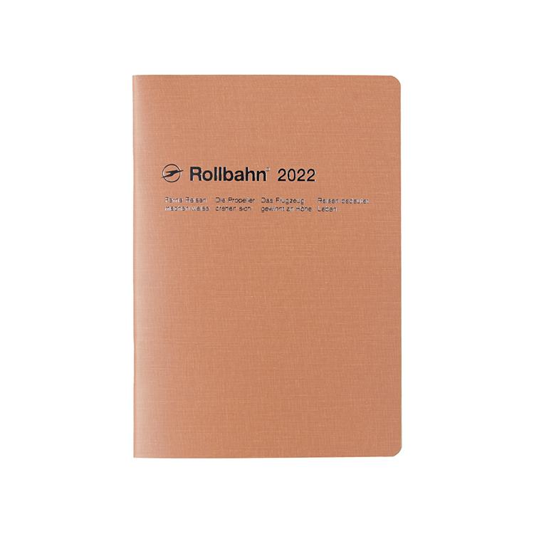 開店祝い Rollbahn ロルバーン 手帳2022 公式通販 DELFONICS デルフォニックス ピンク 格安激安 テクスチャー ノートダイアリー A5