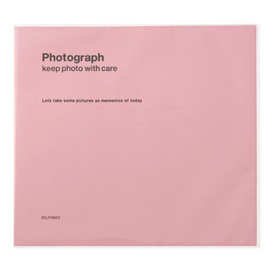 DELFONICS デルフォニックス 公式通販 激安価格と即納で通信販売 リングL PDフォトアルバム ライトピンク 直輸入品激安