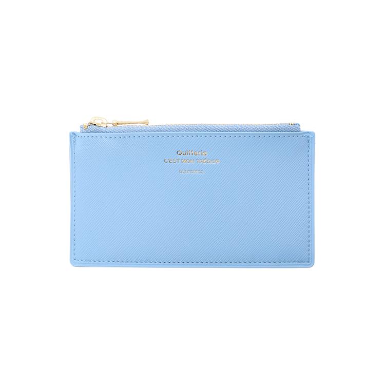 DELFONICS デルフォニックス 激安挑戦中 公式通販 キトリ ライトブルー ジップカードケース 売れ筋
