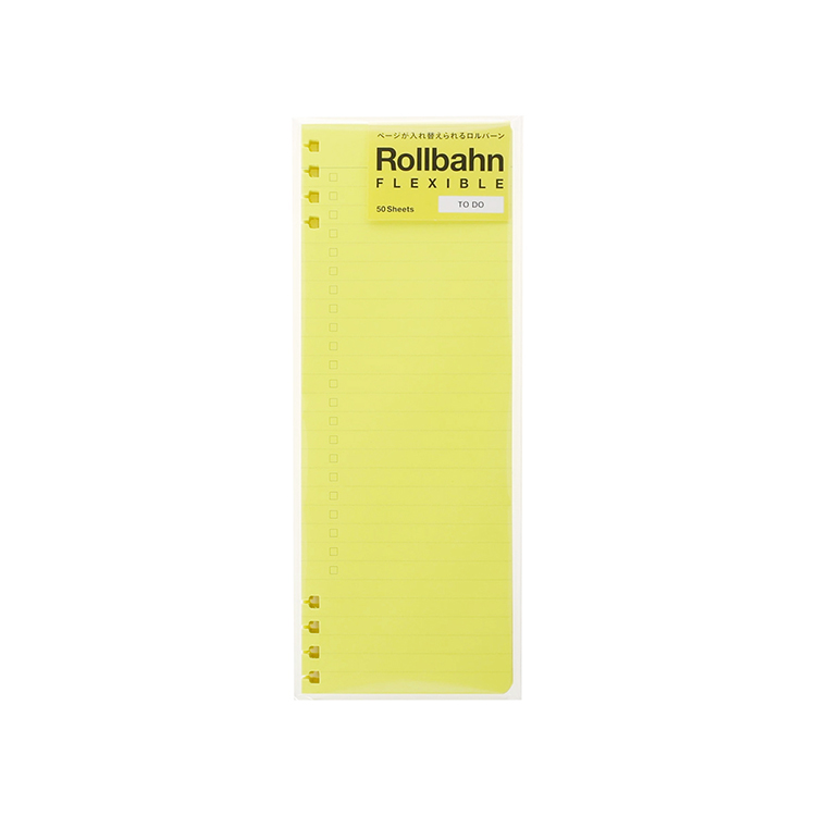 Rollbahn ロルバーン 公式通販 DELFONICS デルフォニックス 当店一番人気 ネオンイエロー DO リフィルTO A5 フレキシブル 最新アイテム