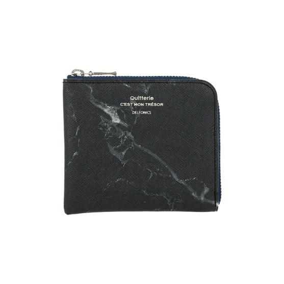 DELFONICS デルフォニックス 現品 公式通販 ストーン ブラック 買い物 キトリ ハーフジップケース