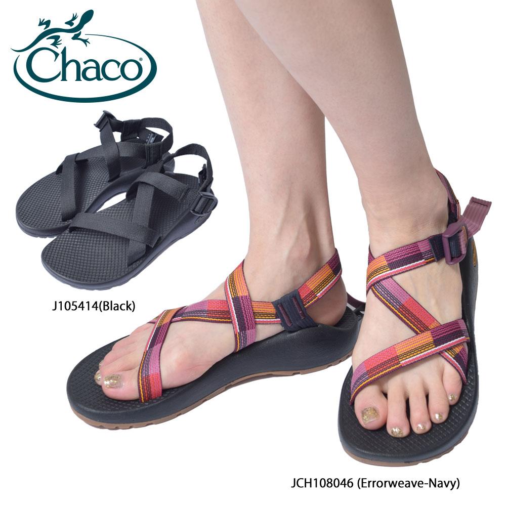 CHACO チャコ【 JCH108046 / J105414 】Z/1 CLASSIC クラシックErrorweave Navy / Black ネイビー ブラックレディース サンダル スポーツサンダル シューズ 靴 ストラップ