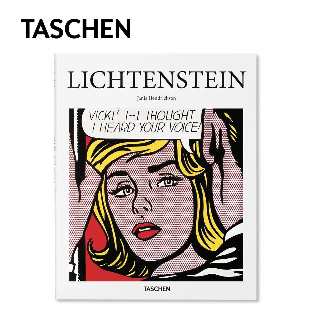 アートブック プレゼント ギフト 英語 BOOK インテリア TASCHEN タッシェン Lichtenstein リキテンスタイン Book ブック アーティスト イラスト 芸術 ヘンドリクソン アート ジャニス Janis 書籍 Hendrickson デザイン 在庫限り 本 買い物