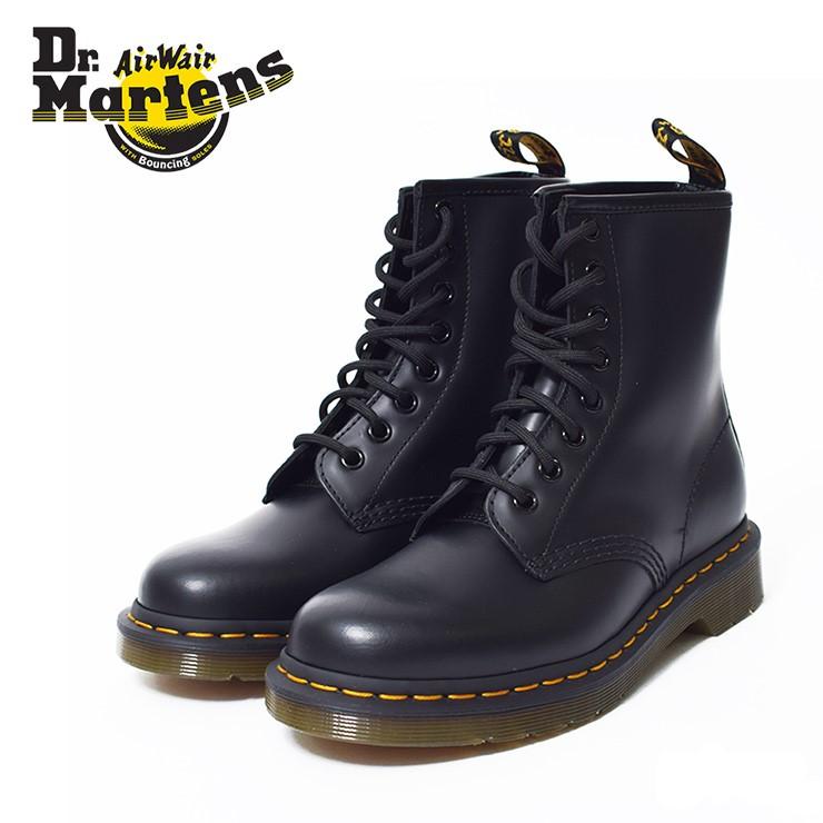Dr.Martensドクターマーチン【R11822006】1460BLACK SMOOTHメンズ ブーツブラック 黒 8ホールブーツ
