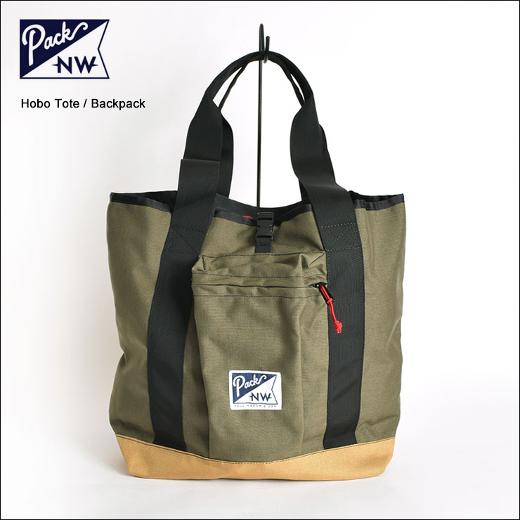 PACK NORTHWEST/PACK NWパックノースウエスト【Hobo Tote】Convertible Tote/Backpackホーボートート/バックパックRanger/Sandstone