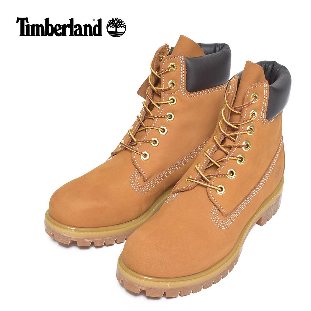 (再入荷)Timberlandティンバーランド【TB010061713】6-Inch Premium Waterproof BootsWheat Nubuck leatherメンズシューズ 靴 ブーツ レザー カーキ