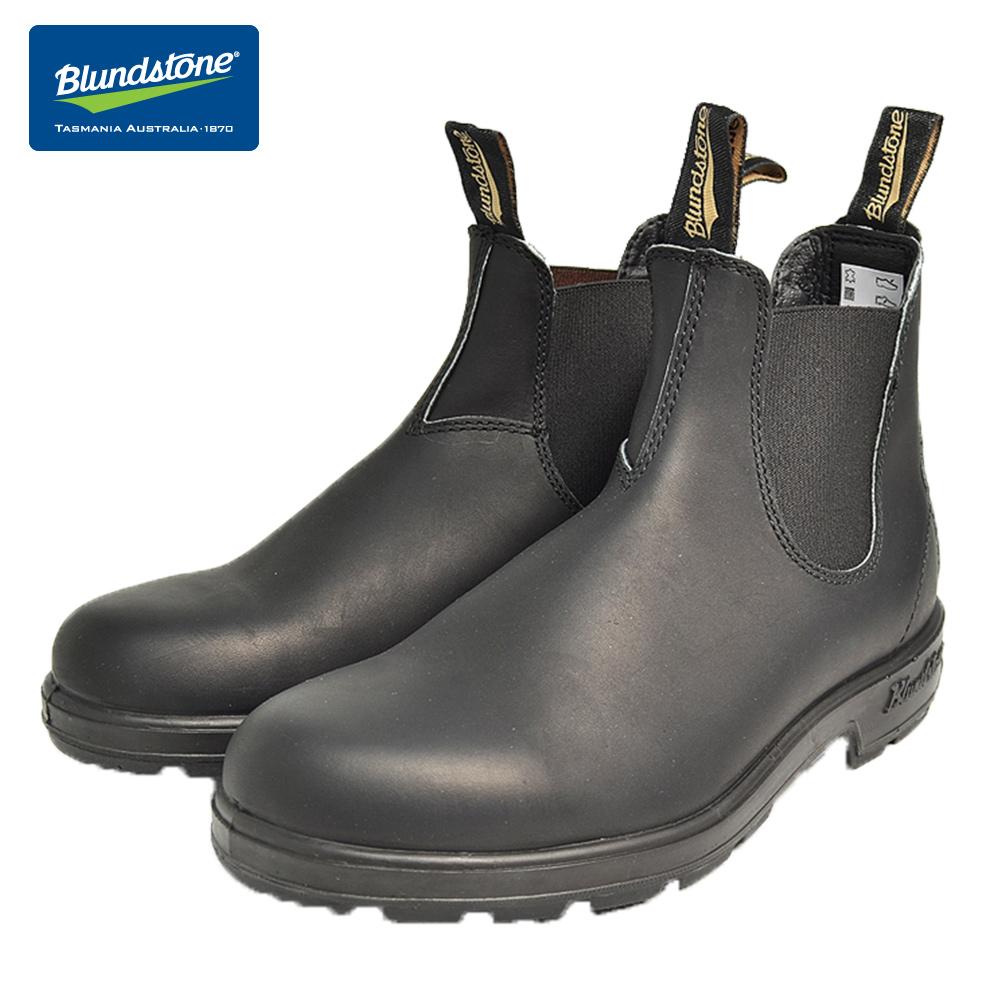 推奨 品質保証 平日16時まで当日発送 定休日除 BLUNDSTONE ブランドストーン #510 ブラックメンズ レディースサイドゴアブーツ BLACK ショートブーツ
