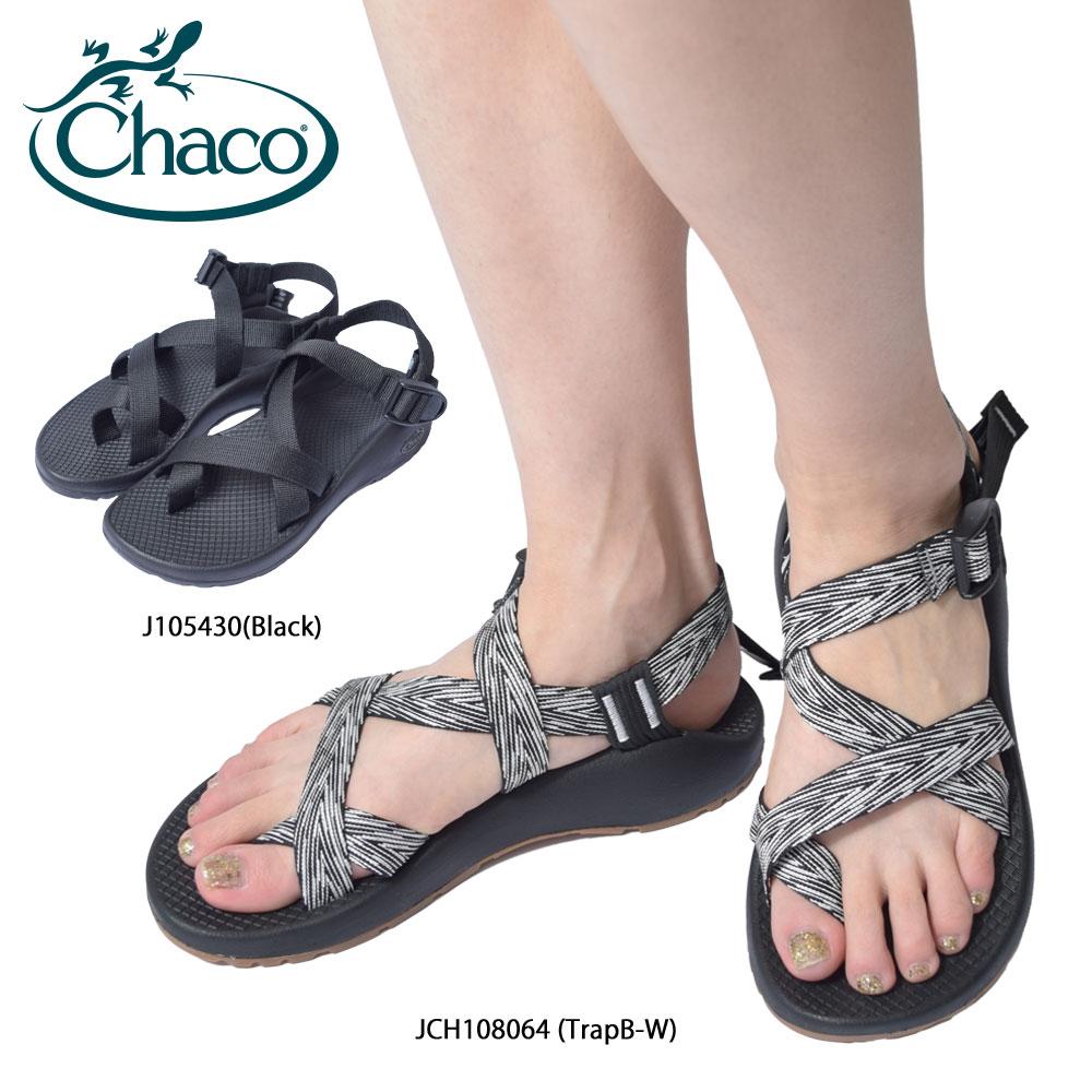 CHACO チャコ【 JCH108064 / J105430 】Z/2 CLASSIC クラシックTrap B+W / Black グレー ブラックレディース 靴 サンダル スポーツサンダル シューズ ストラップ