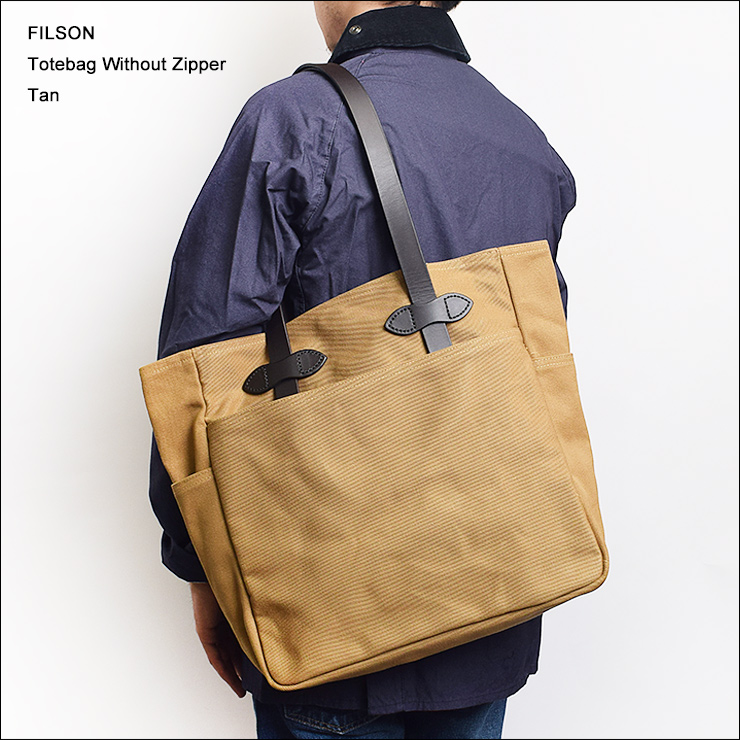 FILSONフィルソン【70260-TN】TOTE BAG WITHOUT ZIPPERTanトートバッグ