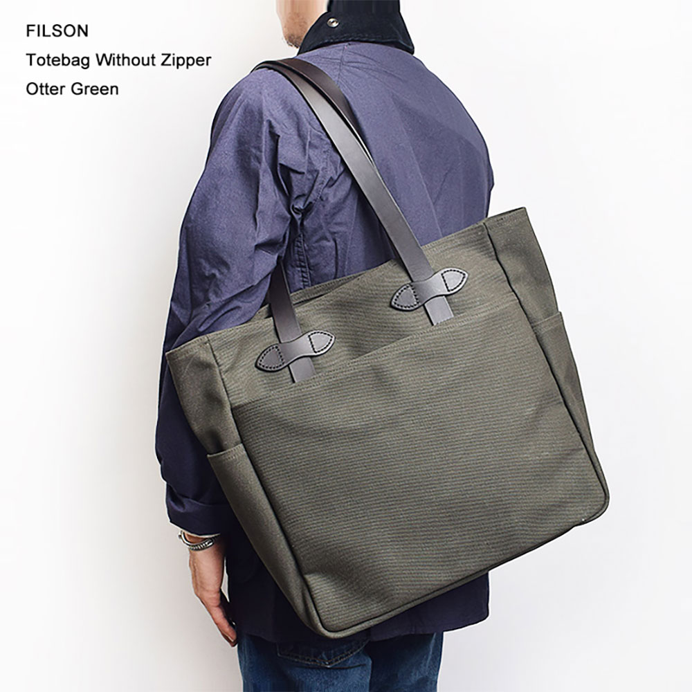 FILSONフィルソン【70260-OT】TOTE BAG WITHOUT ZIPPEROtter Greenトートバッグ