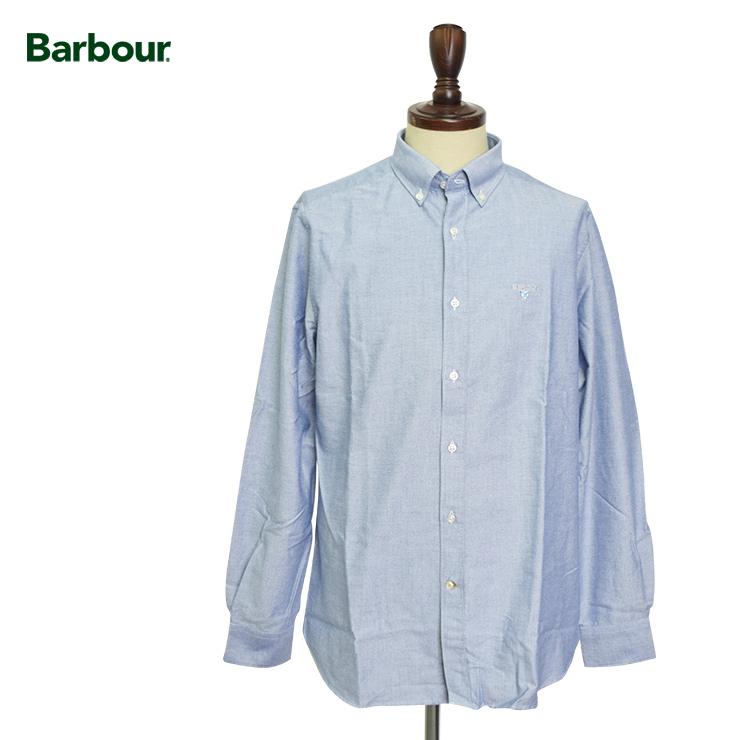 BARBOURバブアー【MSH4483IN32】Oxford 3 Tailored Indigoオックスフォードシャツ ブラウス テイラーフィット インディゴ 青 ブルー