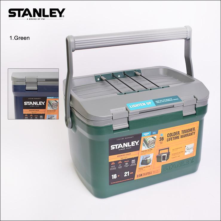 STANLEYスタンレー【Adventure Cooler/16QT】アドベンチャー クーラー 15.1Lクーラーボックス 保温 保冷 アウトドア キャンプ