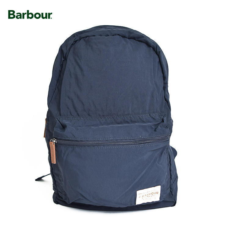 BARBOURバブアー【UBA0409NY911】Beauly Backpack/Navyナイロン バックパック リュックサック バッグ ネイビー 紺