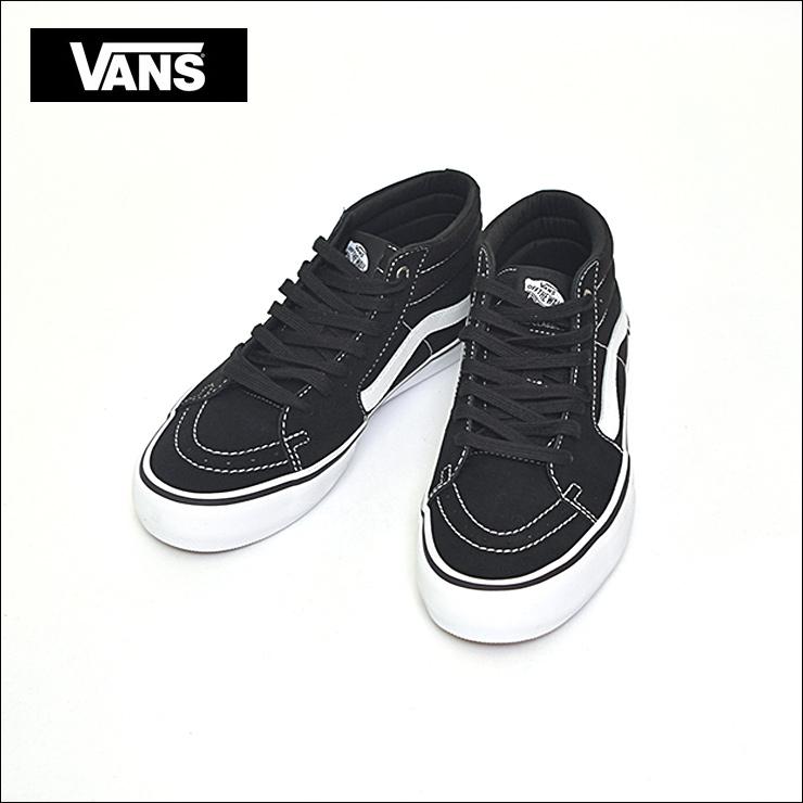 VANS MENSバンズ メンズSK8-MID PRO【VN0A347UY28】BLACK/WHITE Suede/Canvasスケートハイミッドプロメンズ スニーカー 靴