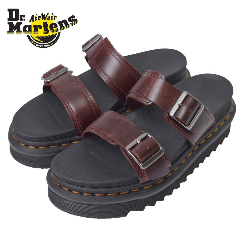 Dr.Martens ドクターマーチン 【R23523211】 MYLES CHARROマイルズ メンズ ブラウン 茶 シューズ 靴 ストラップサンダル サンダル