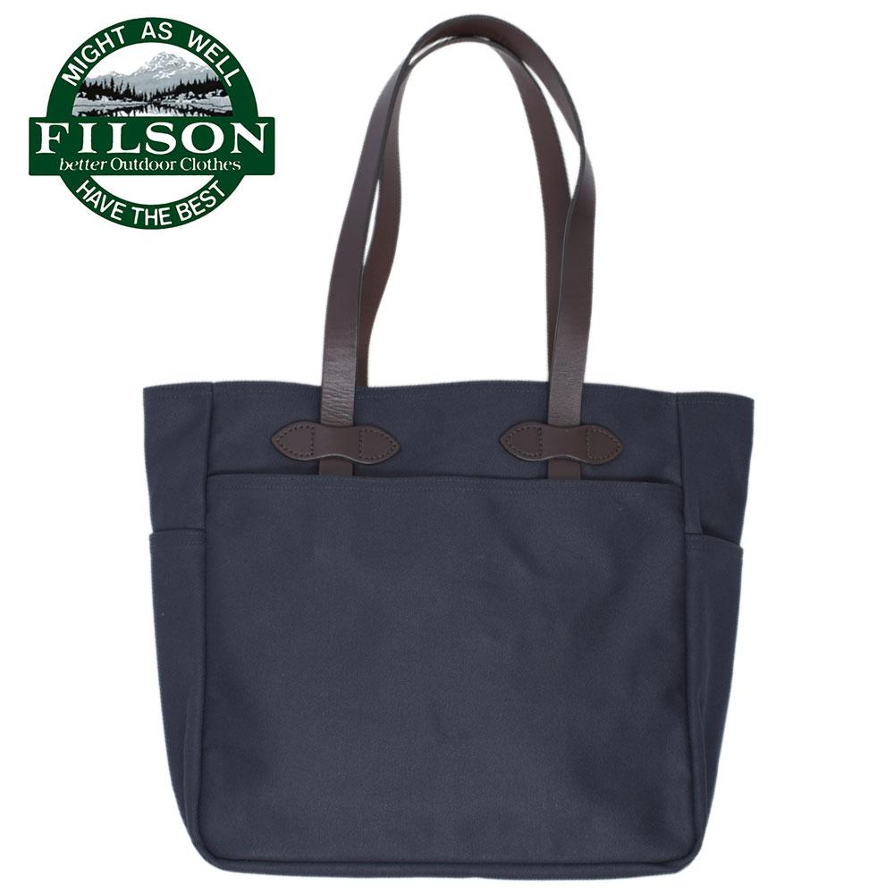 ワケあり-1610FILSONフィルソン【70260-NAVY】TOTE BAG WITHOUT ZIPPERNAVYメンズ トートバッグ バッグ 鞄 カバン トート