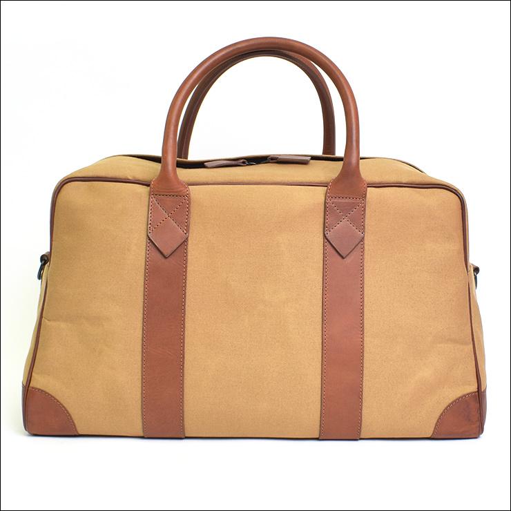 LEON FLAMレオンフラムSAC 48H BEIGE ベージュメンズ ボストン バッグ 鞄j3L54AR