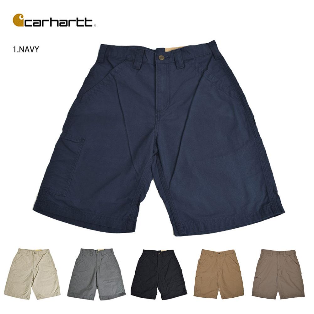 5b60a04166 Carhartt car heart MENS CANVAS WORK SHORT canvas work shorts half underwear  men short pants cargo ...