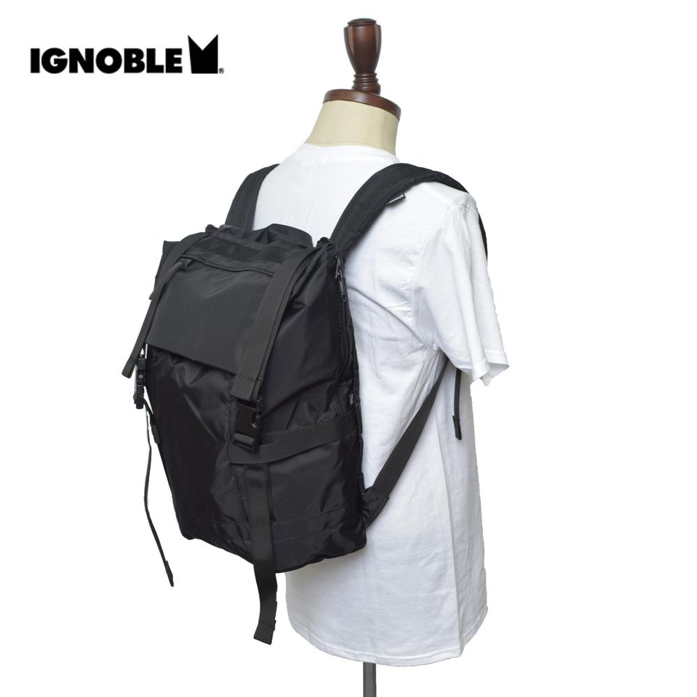 IGNOBLEイグノーブル【11015】Arkady Farewell RucksackBlackメンズ 鞄 リュック バックパック