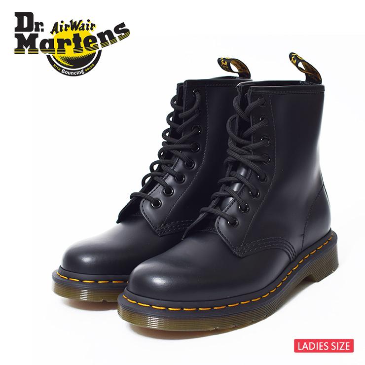 Dr.Martensドクターマーチン【R11822006】1460SMOOTHBLACK SMOOTHウィメンズ レディス ブーツブラック 黒 8ホールブーツ